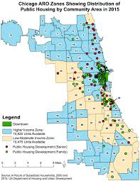 Chicago Area Map Transformed Public Housing In Chicago 2000 2015 The Voorhees