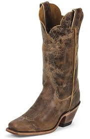 womens brown boots size 12 justin womens bent rail 12 square toe cowboy boots road