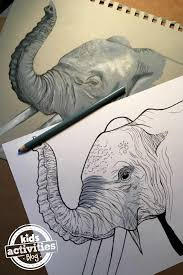 164 elephant coloring pages adults images