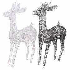Christmas Decorations Light Up Deer by Christmas Led Lights Candles U0026 Candle Holders Online Pk Green