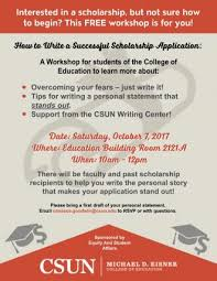 scholarships california state university northridge