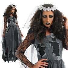 Halloween Costume Bride Cheap Zombie Bride Costume Women Aliexpress
