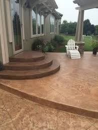 exterior steps rounded concrete patio steps group picture