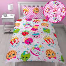 Single Bed Sets Shopkins Single Duvet Cover Sets Bedding In Stock Now Ebay