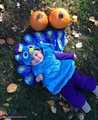 Child Peacock Halloween Costume Sweet Peacock Baby Costume