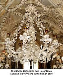 Halloween Chandeliers The Sedlec Bone Chandelier Czech Republic Bone Gallery