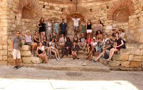 workshop for conservation of ancient greek pottery