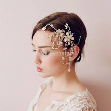 compare prices on flower hair pieces for weddings online shopping