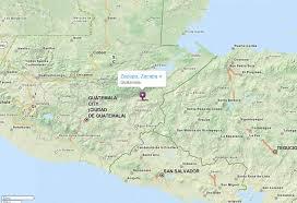 geographical map of guatemala zacapa map