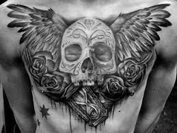 Chest Tattoos - 40 wing chest designs for freedom ink ideas