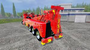 kenworth truck engines t600b tow truck for farming simulator 2015