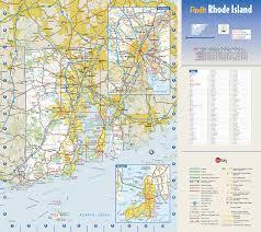 map rhode island rhode island state wall map by globe turner