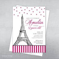 eiffel tower invitations eiffel tower 21st birthday invitation by littlepprintables
