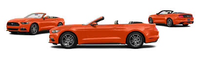 orange mustang convertible 2016 ford mustang v6 2dr convertible research groovecar
