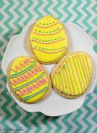 sugar easter egg easter egg sugar cookies tutorial by the baker
