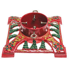 christmas tree stands bows bells 14 cast iron christmas tree stand the