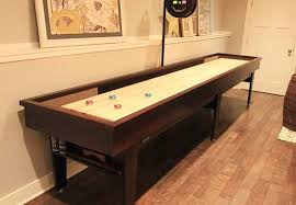 Antique Shuffleboard Table For Sale Handcrafted Shuffleboard Tables Mcclure Tables