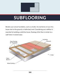 how to build a floor for a house how to build a tiny house the tiny resources