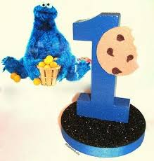cookie monster table decorations elmo or cookie monster balloon centerpieces happy birthday party