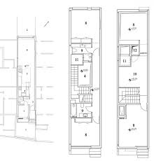narrow home floor plans narrow house by ohad yehieli house narrow