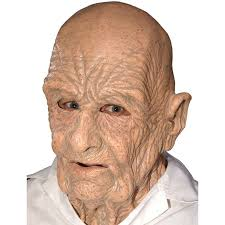 bald man halloween mask amazon com zagone doa mask old dead bald wrinkly man clothing