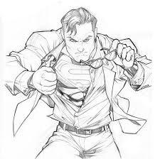 superman sketch carlosgomezartist deviantart