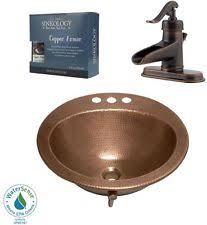 Copper Bathroom Faucet by Copper Vessel Faucet Ebay