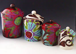 ceramic canisters sets for the kitchen canister set kitchen canisters ceramic canisters pottery canister