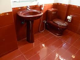30 magnificent pictures and ideas of burgundy tiles in bathroom