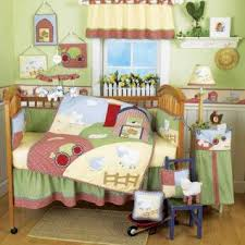 Farm Crib Bedding Farm Animal Baby Bedding White Bed