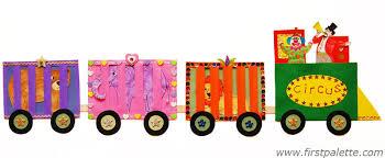 circus train craft kids u0027 crafts firstpalette