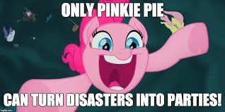 Pinkie Pie Meme - might not be a good idea imgflip