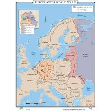 blank map of europe after ww2 printable editable 2017 inside