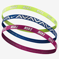 hair bands nike metallic hairbands 3 pack nike