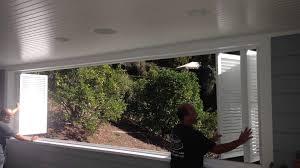 Folding Window Shutters Interior Bi Folding Exterior Aluminum Shutters Youtube