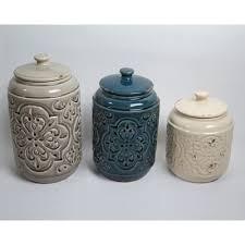 rustic kitchen canister sets drewderosedesigns rustic quilted 3 kitchen canister set