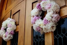 Wedding Wreaths Wedding Wreaths Of Pink And Ivory Peonies