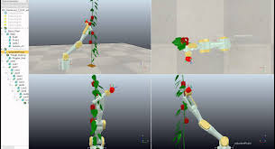 inverse kinematics 7 dof manipulator v rep by redmond ramin
