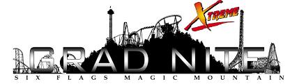 Six Flags Logo Riding The Night Away Grad Nite 2013 Newsbytes Online