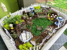 fairy garden container ideas christmas lights decoration