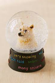 Doge Meme Christmas - doge snowglobe at urban outfitters doge is adorable and i have