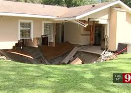 massive sinkhole swallows part of home in apopka florida