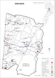 K Map Ward K East Brihanmumbai Municipal Corporation Bmc Elections