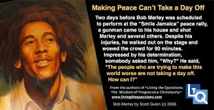 can marley bob marley living the questions