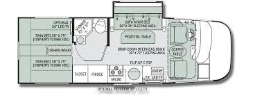 motorhome floor plans thor axis 25 1 motorhome floor plan