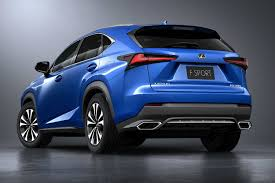 lexus crossover vehicles lexus updates its 2018 nx compact crossover to stay competitive