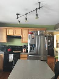 how to replace track lighting have angled track lighting in kitchen want pendant lights