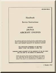 pratt u0026 whitney j48 p 6 aircraft engine service instruction