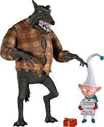 Wolfman Halloween Costume Amazon Nightmare Christmas Series 3 Action Figure