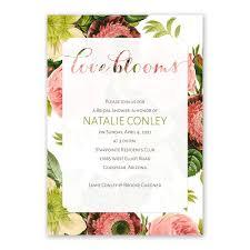 love blooms bridal shower invitation invitations by dawn